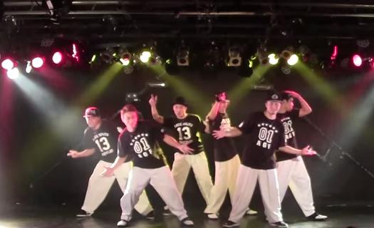 【TDD優勝チーム♪】ALL GOOD FUNKのダンスがファンキーかつロック感満載!!