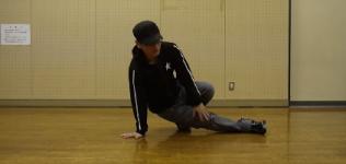 【ブレイクダンス】フットワーク[一歩] -やり方・コツ・練習方法の動画講座-