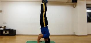 【体操】三点倒立 -技のやり方・コツ・練習方法の動画講座-