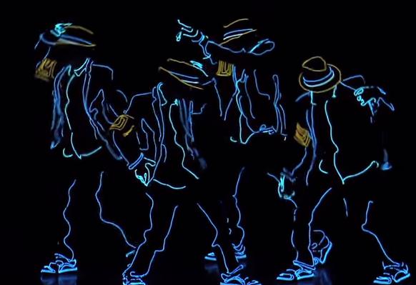 """《光の魔術師!》ダンスにしては、オシャレ過ぎる!""""明暗×ダンス""""とそのセンス、感動。"""