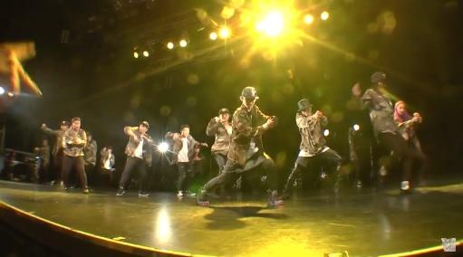 《歓声が止まらない!》GunzHUNT ALL STARSのダンスに会場が大盛り上がり!!
