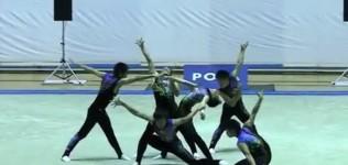 《美しすぎる!》高校生が床を舞う!新体操を始めたくなっちゃう素晴らしい動画がコレ!