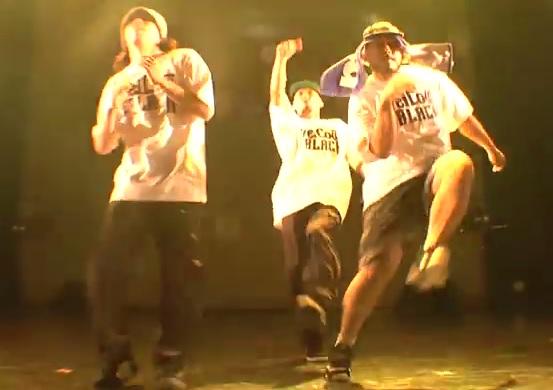 《ザ・ヒップホップ》XXX-LARGEの大迫力のムーブが、会場の熱を沸きたてる!!