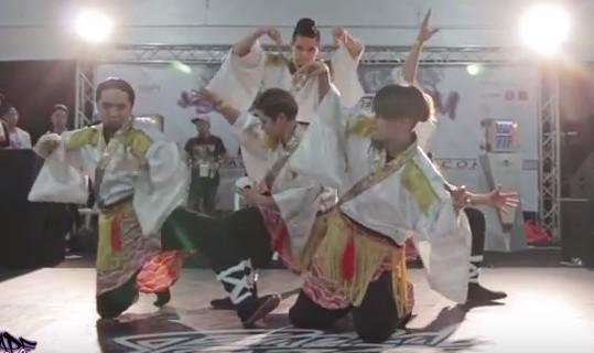 <8分間目が釘付けに>TRIQSTARが海外イベントで魅せたダンスがかっちょいい!